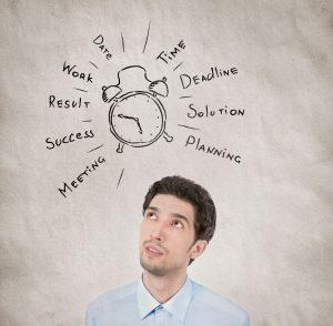 Organizar el tiempo es fundamental para ser productivo