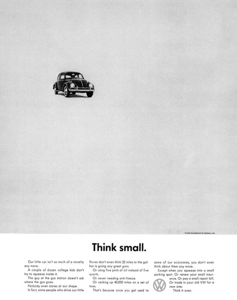 Este anuncio fue casi revolucionario